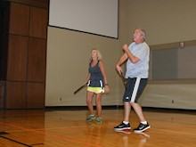 ussville pickleball, irmingham pickleball, pickleball, family pickleball, first baptist church trussville, pickleball demonstration
