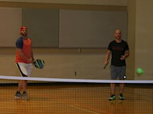 Pickleball images taken during Pickleball Open Play from First Baptist Church Trussville in Trussville, Alabama